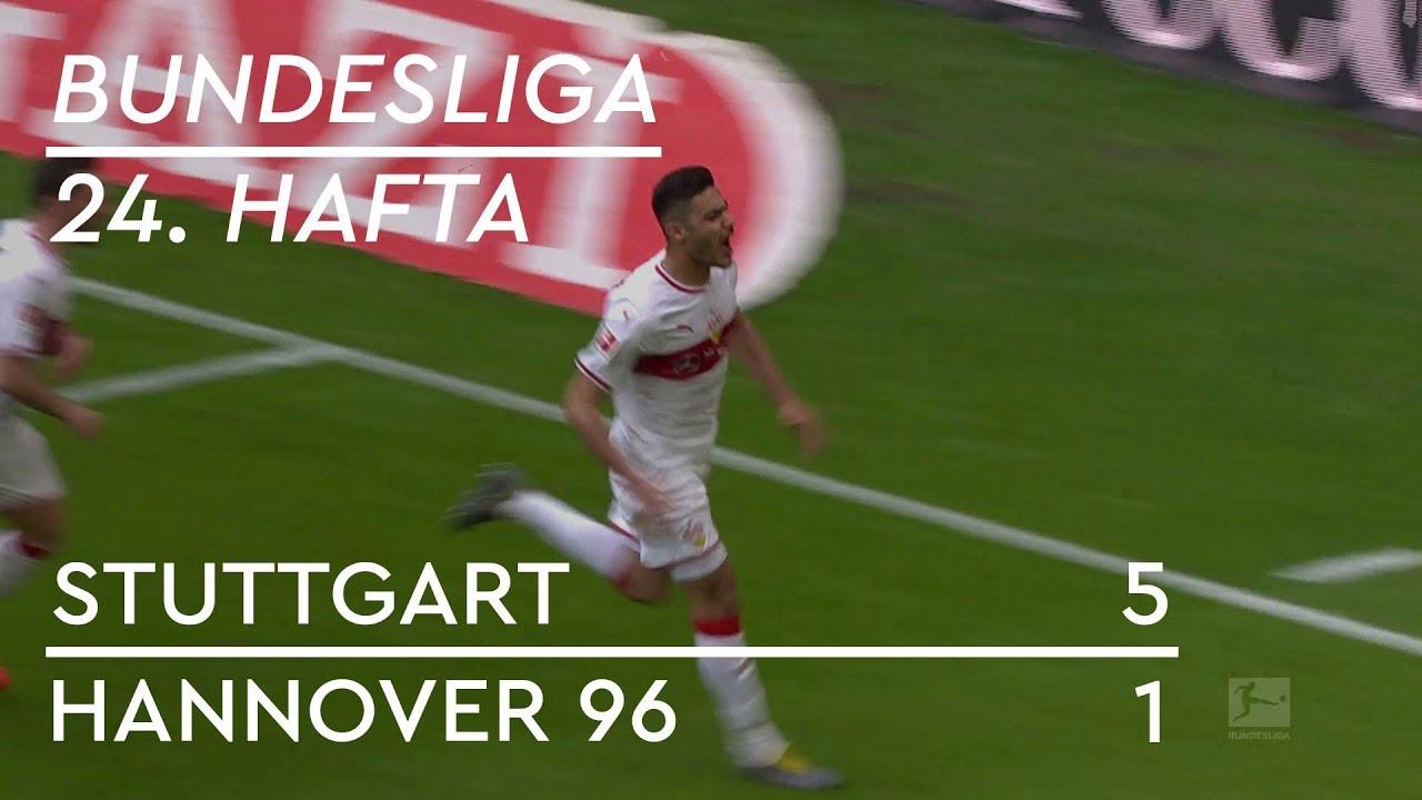 Stuttgart - Hannover 96  (5-1) - Maç Özeti - Bundesliga 2018/19