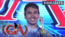 Paul Maawa bags his second Mr. Q and A trophy | It's Showtime Mr. Q and A