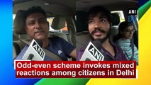 Odd-even scheme invokes mixed reactions among citizens in Delhi