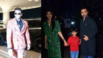 Spotted: Ranveer Singh at the airport & Shilpa Shetty at yautuacha