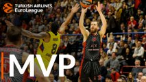 Turkish Airlines EuroLeague MVP for October: Sergio Rodriguez, AX Armani Exchange Milan
