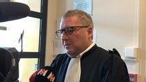 Réaction de l'avocat de Luc Besson à la sortie du tribunal d'instance