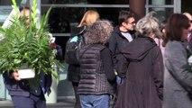 Emma Ozores, destrozada en el último adiós a Nicolás Dueñas
