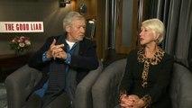 Ian McKellen and Helen Mirren debate Tinder and Grindr