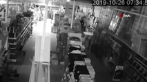 8 işyerini soyan hırsızın soygun anı kameralara yansıdı