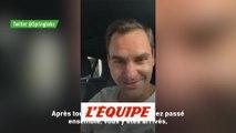 Roger Federer félicite les Springboks - Tennis - WTF