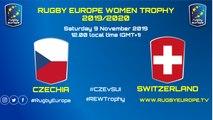 CZECHIA - SWITZERLAND - RUGBY EUROPE WOMEN TROPHY 2019/2020