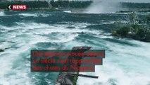 Un bateau coincé dans les chutes du Niagara depuis 101 ans a bougé de plusieurs mètres