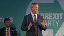 Nigel Farage: 'No Brexit without the Brexit Party'
