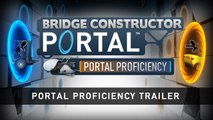 Bridge Constructor Portal - Portal Proficiency Gameplay Trailer | Official Puzzle DLC Game 2019 | HD