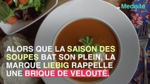 Rappel de soupe Liebig en raison d'un risque d'intoxication !