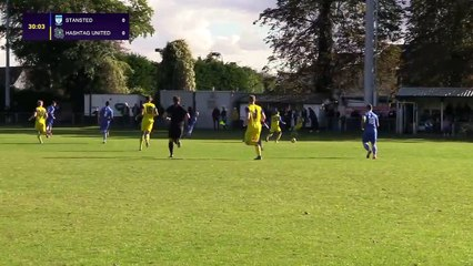 Jesse Waller-Lassen vs Stansted - Hashtag United Goal of the Month #3