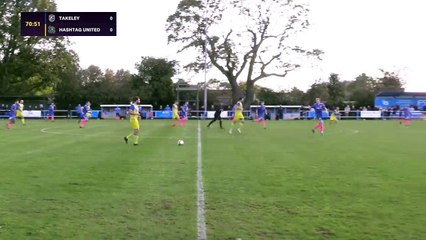 Joshua Osude vs Takeley - Hashtag United Goal of the Month #4