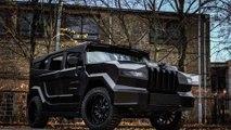 Dartz lance le Hummer Prombron Black Stallion pour un mystérieux film d'action