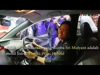 Kunjungi GIIAS 2019, Sri Mulyani: Kalau Sudah Pensiun Ingin Beli Mobil Listrik