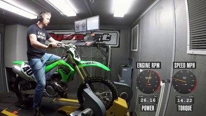 2020 Kawasaki KX450 Dyno Test