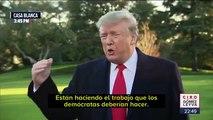 """""""México cuida nuestra frontera de a gratis"""": Donald Trump"""