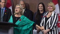Elizabeth May resigning as Green party leader, names Jo-Ann Roberts interim successor
