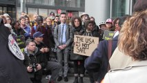 Protesters call for end of Safe Third Country Agreement