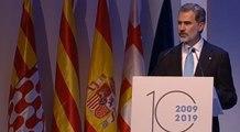 El Rey reivindica la contribución de Cataluña al proyecto democrático