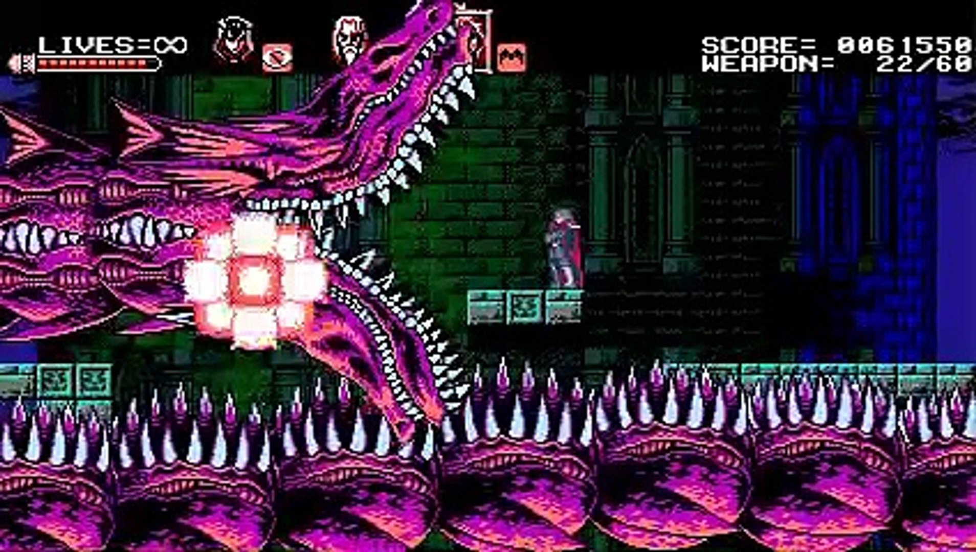Bloodstained - Curse of the moon ( Nightmare ) retrouver Zangetsu (04/11/2019 22:07)