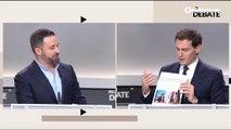 """Encontronazo entre Rivera y Abascal por el """"chiringuito"""" de Esperanza Aguirre en el que trabajó el líder de Vox"""