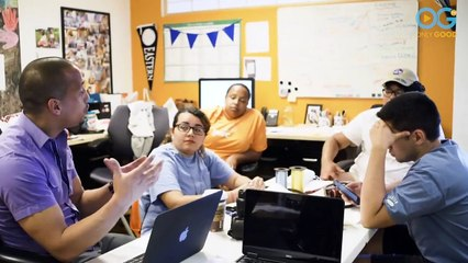 Nonprofit's Building Blocks Boosts Students Hopes For College