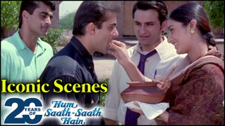 Hum Saath Saath Hain BEST Movie Scenes & Dialogues   Salman, Saif, Tabu, Karisma   Sooraj Barjatya
