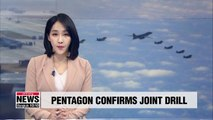 S. Korea-U.S. combined flying training to proceed as planned: Pentagon