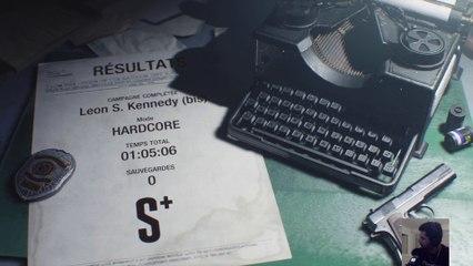 [SpeedRun] Resident Evil 2 - Leon B[Hardcore] : 1h05m06s