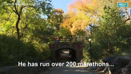A walk in the park NYC marathon runner praises barefoot running