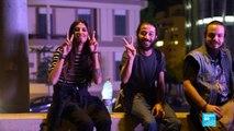 """Les Libanais bloquent les routes pour """"faire pression sur les autorités"""""""