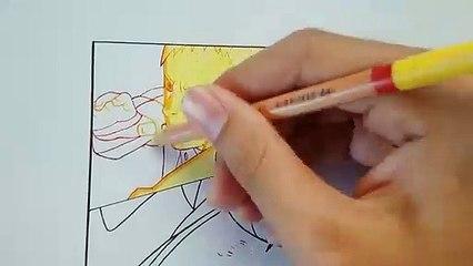 Drawing Naruto & Sasuke VS Momoshiki   Boruto