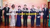En visite à Shanghai, Macron appelle à « jouer européen » face à la Chine