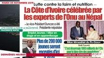 """Le Titrologue du 05 novembre 2019: CEI: """" Nous allons nous conformer à la loi et aux textes ..."""""""