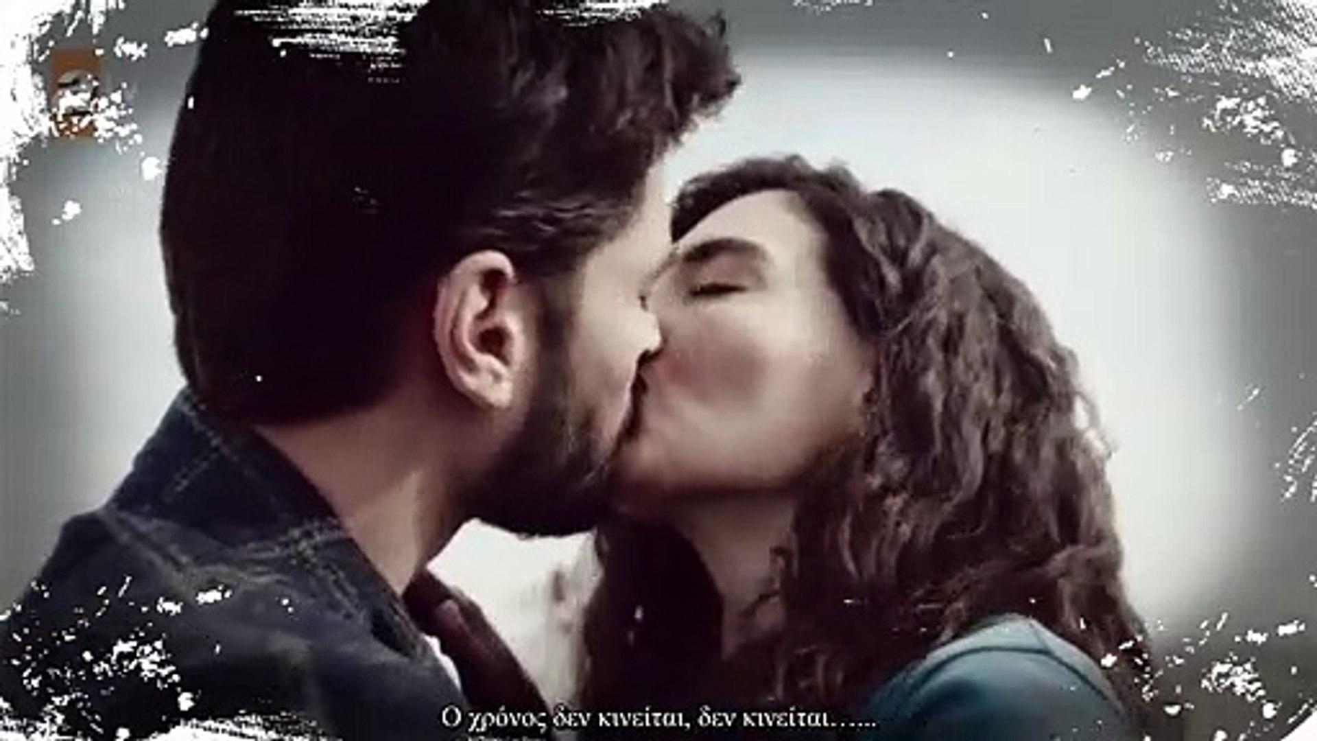 Hercai Miran & Reyyan Kiss (Ben Sende Tutuklu Kaldım ) GREEK SUBS!!