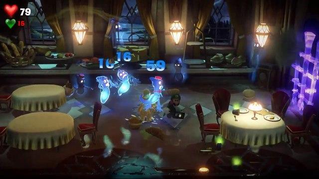 Luigi S Mansion 3 Walkthrough Gameplay Part 5 Ghost Chef Soulffle Boss Fight