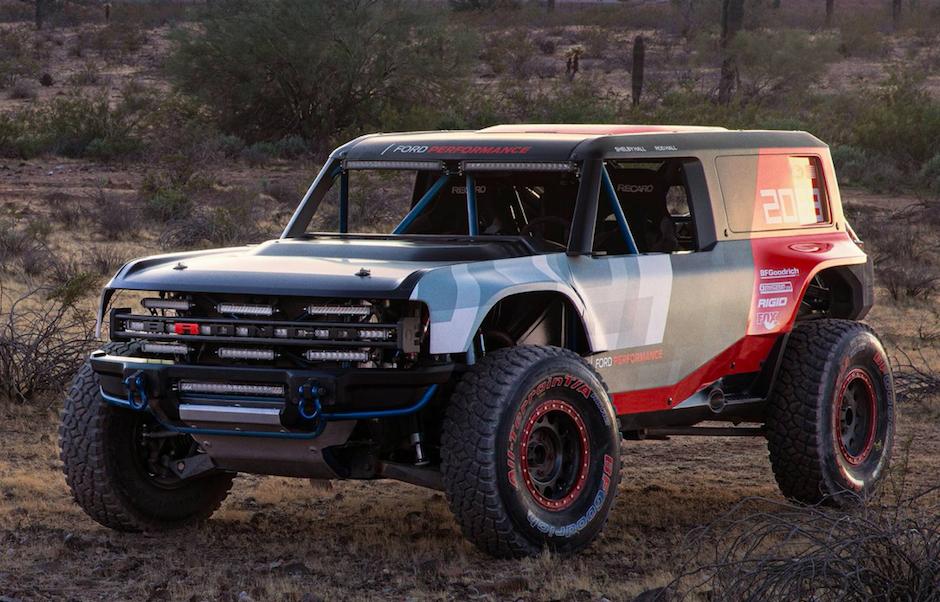 VÍDEO: Ford Bronco R Concept, el arma de Ford para la Baja 1000