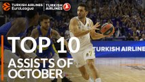 Turkish Airlines EuroLeague, Top 10 Assists of October!