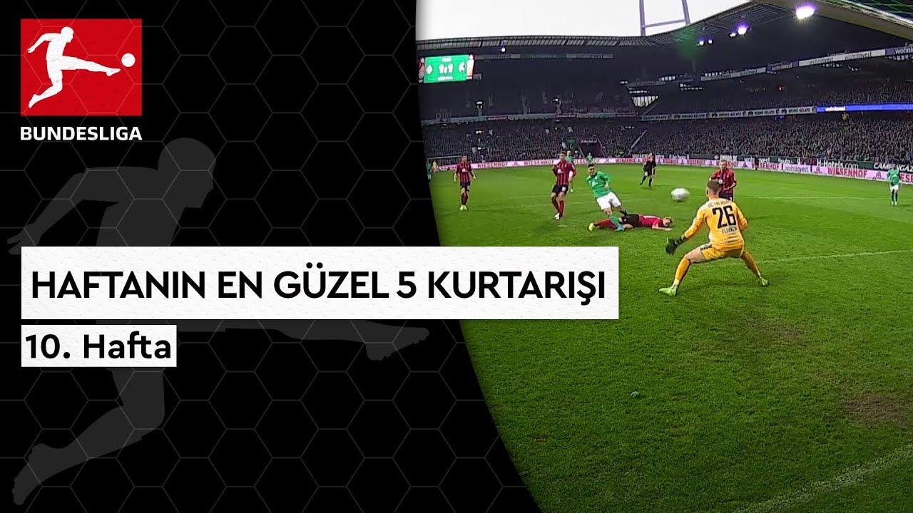 Bundesliga'da 10. Haftanın En Güzel 5 Kurtarışı (2019/20)