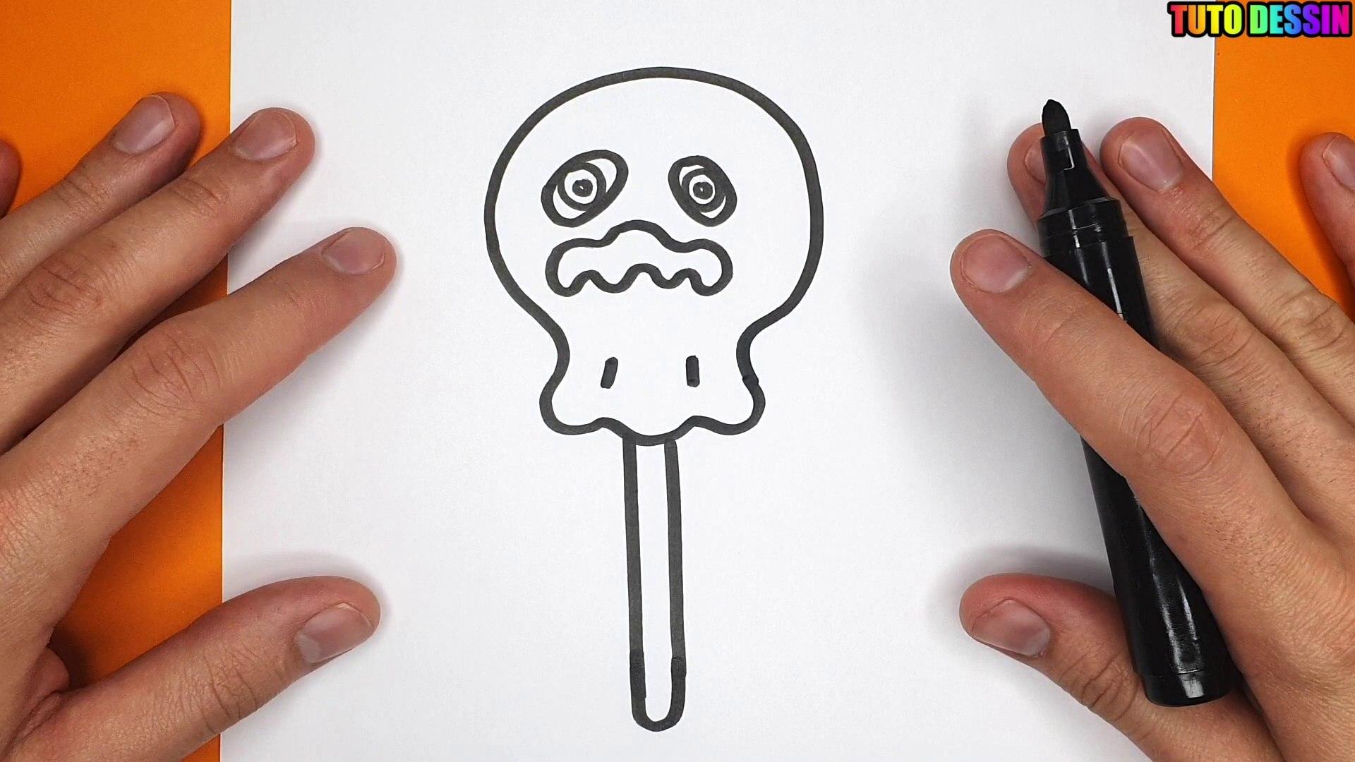 Comment Dessiner Un Bonbon Fantome Pour Halloween Tutodessin Video Dailymotion