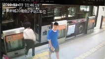 Elderly Chinese man dragged by bus for several metres after his foot gets stuck in doors