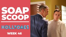Hollyoaks Soap Scoop! Finn and Edward clash