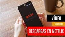 Cómo descargar series de Netflix en tu móvil