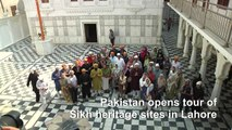 Pakistan opens tour of Sikh heritage sites in Lahore
