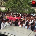 Day after murder, hundreds bid emotional farewell to Telangana MRO Vijaya Reddy