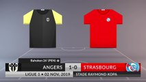 Match Review: Angers vs Strasbourg on 02/11/2019