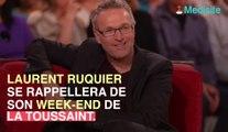 """Laurent Ruquier blessé après une chute : """"Je hurlais de douleur"""""""