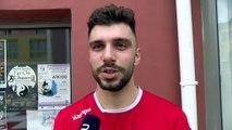 Hugo Paul avant Toulouse - Istres Provence Handball