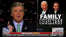 Sean Hannity Suggest Joe Biden Is On Top Of 'Crime Family' That Includes Nancy Pelosi And CNN